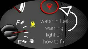 Water Separator Warning Light Water In Fuel Tank How To Fix Water In Fuel Warning Light