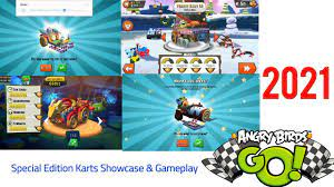Angry Birds Go! I Special Edition Karts Showcase & Gameplay In 2021 -  YouTube