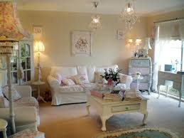 decoration bright white themed contemporary sitting space using decorating shabby chic ideas enhanced with crystal
