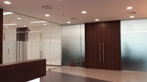 office glass door glazed. Double Glazed Glass Cabins / Partition Fitted With Doors Drop Seals For Better Acoustic Office Door