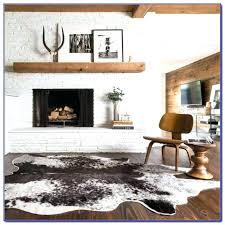 fake cowhide rug cowhide rugs cow skin rug fake cowhide rugs for