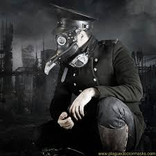 Post-Apocalyptic Plague Doctor Mask for Plague Doctor Costume Cosplay