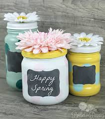 Ways To Decorate Glass Jars Anthropologie Mashup Repurposed Glass Jars DIY Craft 45