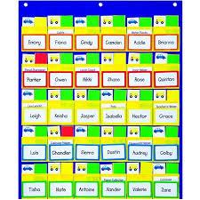 Classroom Assignment Chart Carson Dellosa Classroom Management Pocket Chart