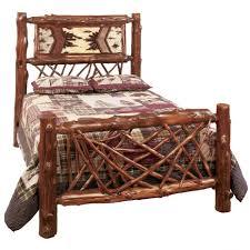 Log Furniture Bedroom Sets Bedroom Picture Of Bear Castlecreek Diamond Cedar Log Bed