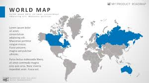 Editable World Map For Powerpoint World Editable Powerpoint Map Infographic Presentation Template