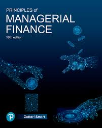 Principles of Managerial Finance (Subscription) | 16th edition | Pearson