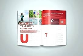 Free Magazine Template For Microsoft Word Colorful Modern Magazine Template Vector Free Download