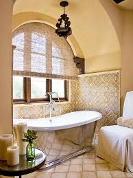 bathroom in spanish. Brilliant Bathroom Spanish OriginsSpanish Style Abounds In This Master Bathroom Retreat From  The Warmth Of Goldenyellow Walls To Ornate Tilework A Metalside Tub  Intended Bathroom In