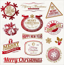 Christmas Tag Template 180 Christmas Label Templates Free Psd Eps Ai Vector Format