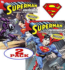 Pypus is now on the social networks, follow him and get latest free coloring pages and much more. Amazon Com Dc Comics Superman Coloring And Activity Book Set 2 Books 96 Pgs Each Toys Games
