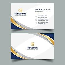 Corporate Business Card Elegant Business Cards Business