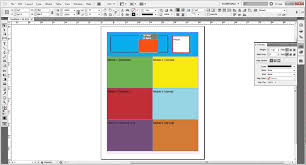 Laying Out An Infographic Resume Using Adobe Indesign Youtube