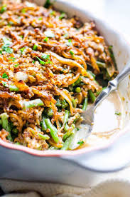 Light Green Bean Casserole Low Calorie Low Sodium And Light Healthy Alternative Made