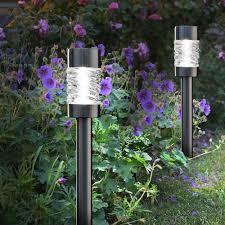 Solar Garden Lights Martello Pack Of 4