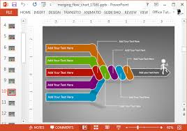 How To Add Animation To Chart In Powerpoint Animated Flow Chart Powerpoint Template Slidehunter Com