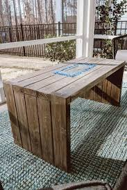 how to build a diy fire pit table for