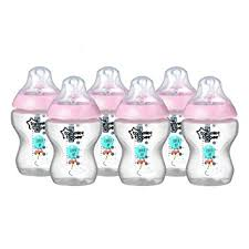 Tommee Tippee Pink Decorated Bottles Amazon Tommee Tippee Closer to Nature 100 ml100fl oz 4