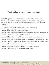 Skilled Laborer Resume Top224skilledlaborerresumesamples224lva224app622492thumbnail24jpgcb=2242433224562249 15