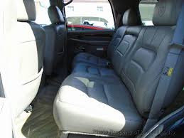 cadillac emblem seat covers beautiful 2002 used cadillac escalade ready to go awd at saw mill