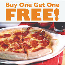 bogo 10 lg cheese or pepperoni get a second lg cheese or pepperoni free
