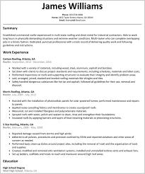 Nice Roofing Job Description Resume Pics Of Job Resume Download