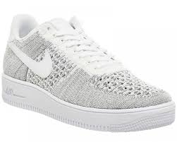 womens nike air force 1 white. Womens Nike Air Force 1 Low Flyknit Trainers Wolf Grey White. By Fmeaddons. 2372421612_226122.jpg. 2372421612_226123.jpg. 2372421612.jpg White