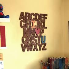 alphabet wall letters i love u i
