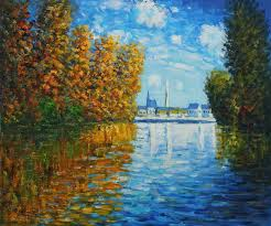claude monet most famous paintings claude monet autumn at argenteuil hand painted oil painting on