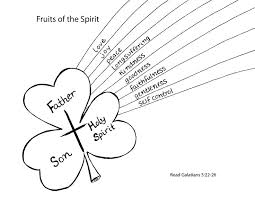 Fruit Of The Spirit Joy Color Page Fruit Of The Spirit Coloring