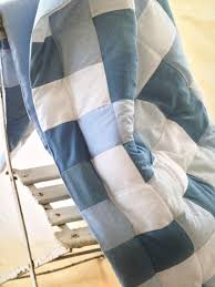 Tie or Knot Your Quilt Layers Together - Wise Craft Handmade & The Eiderdown quilt from my first book, pictured above. I tied it at the  corners of each square, using perle cotton, but knotted the threads on the  back ... Adamdwight.com