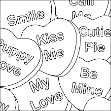 Small Picture Valentines Day Hearts Coloring Pages 2 Valentine Heart Coloring