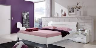 Double Bed Contemporary With Built In Light Wooden Loft