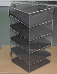 acrylic lucite countertop display case showcase box cabinet 12 x 6 x 16