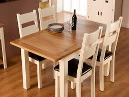 full size of dining room white oak dining table oak dining table and fabric chairs round