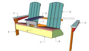 adirondack chairs blueprints. Unique Adirondack Double Adirondack Chair Plans Intended Chairs Blueprints D