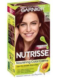 Permanent Semi Permanent Temporary Brown Hair Color Garnier