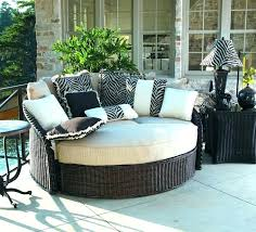 outdoor porch beds that will make nature naps worth it bed swing round rattan hanging cedar