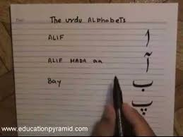 Lesson 1 Urdu Alphabet