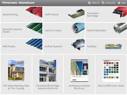 Pac Clad Metal Color Chart Pac Clad Petersen Aluminum By Petersen Aluminum Corporation