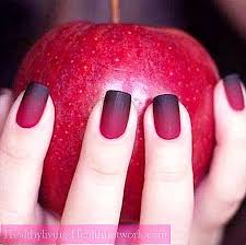červený A černý Design Nehtů Zajímavé Nápady Kombinace A
