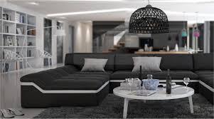 Big Sofa U Form Moderne Wohnlandschaft Barari U Form Sofa