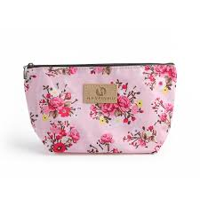 women cosmetic bag vine fl printed makeup bags multicolor pattern cute cosmetics pouchs for travel las make up pouch cosmetic s cosmetic