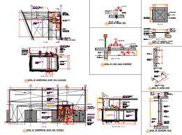 Concrete Cistern Tank Design Underground Water Tank Autocad File Cadbull