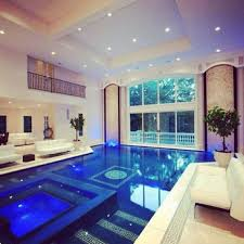indoor swimming pool lighting. Home Design And Decor , Indoor Swimming Pools : With Sofas Recessed Pool Lighting R