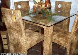 Woven Dining Room Chairs Furniture From Woven Wicker Dining Room Awesome Woven Dining Room Chairs
