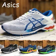 2019 Best Asics Kayano 26 Mens Running Shoes Black White Blue Designer Original Men Women Athletics Sneakers Sport Shoes Male Shoes 36 45 From
