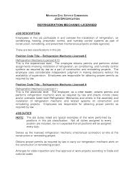 air conditioning resume sample maintenance  seangarrette coair conditioning resume sample maintenance