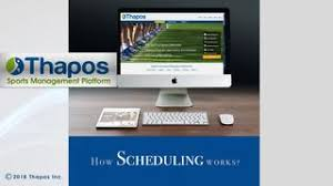 Sports Scheduling Software League Schedule Maker By Thapos