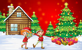 Christmas Christmas Tree Kids Boy Girl Children New Year Happiness Christmas Tree Kids